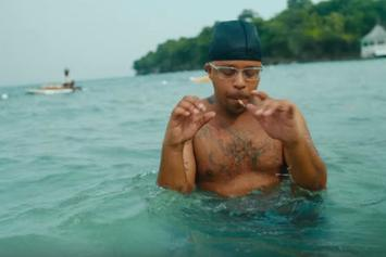 "Azizi Gibson Is In Full Vacation Mode For Official ""Rihanna"" Video"