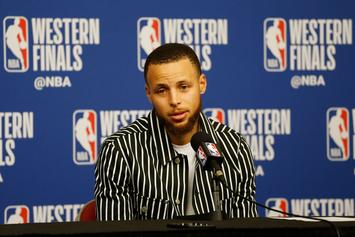 """Steph Curry On Chris Paul's Hilarious Shimmy: """"It Was Well Deserved"""""""
