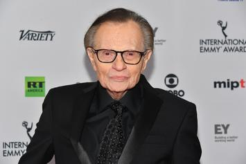 """Larry King Says Morgan Freeman Accusations Are """"Terrible"""""""