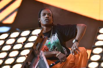 "A$AP Rocky & Skepta Perform ""Praise The Lord""  In The Streets"