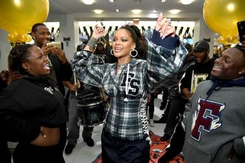 Rihanna Can't Contain Her Excitement Over LeBron James' Game 7 Win