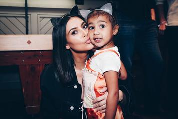 Kim Kardashian Dresses Up As Princess Jasmine And North Isn't Having It