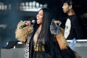 "Nicki Minaj Thanks Pretty Much Everybody After ""Chun-Li"" Goes Gold"