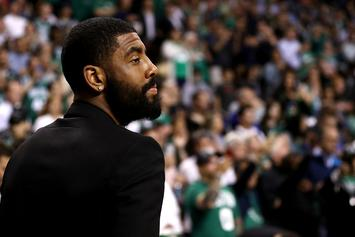 Kyrie Irving & DJ Chantel Jeffries Spotted Kissing & Cuddling In New York