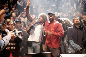 """Kid Cudi Unveils Album Cover For """"Kids See Ghosts"""" With Kanye West"""