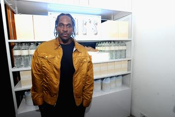 """Pusha T's Drake Blackface Cover For """"The Story Of Adidon"""" Is Gone"""