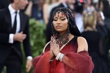 "Nicki Minaj Shares Sexually Suggestive Cover Art For ""Queen"""
