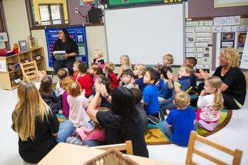 Kindergarten Students Learn Lockdown Nursery Rhyme In Case Of School Shooting