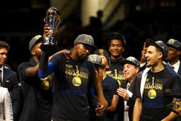 Twitter Reacts To Warriors Sweeping Cavaliers In NBA Finals