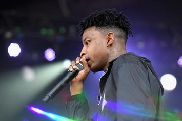 21 Savage Pulls A Gun Out During Pool Party Brawl