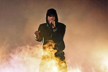 "Eminem's Camp Denies Using Realistic ""Gunfire"" SFX At Bonnaroo"