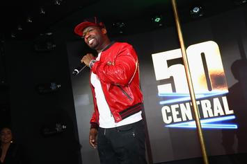 "50 Cent Reveals The True Origins Of His ""Get The Strap"" Catchphrase"