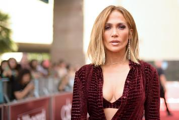 Jennifer Lopez Poses With Ex-Husband & New Man As Blended Family