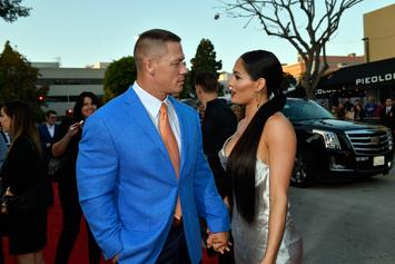 John Cena & Nikki Bella Spotted Having An Intense Dinner Outing
