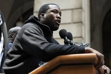 Meek Mill Vows To Continue Fighting For Justice Reform At Supporter Rally