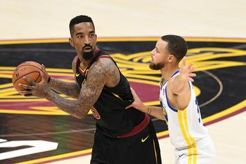 """JR Smith's Game One """"Brain Fart"""" Jersey Can Be Yours For Under $12k"""