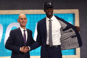 """Mo Bamba Turns Up To Sheck Wes """"Mo Bamba"""" After Being Drafted 6th Overall"""