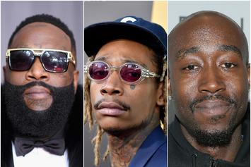 "Rick Ross, Freddie Gibbs & Wiz Khalifa Lead This Week's ""Fire Emoji"" Playlist"