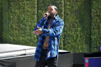 Nipsey Hussle Slaps BET Awards Employee; Performs Onstage Right After