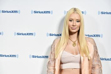 Iggy Azalea Previews New Music While Wearing A Skimpy Swimsuit
