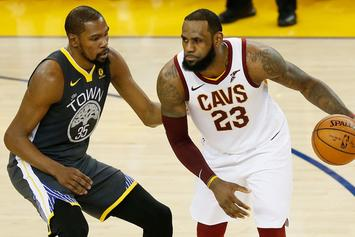 LeBron Reportedly Texted Kevin Durant About Teaming Up In L.A.