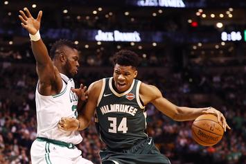 Giannis Antetokounmpo Responds To Joel Embiid Being Crowned Best Eastern Player