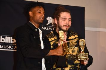 21 Savage Gifts Post Malone With A Real AP Watch For His Birthday