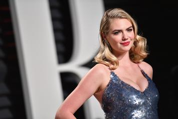 """Kate Upton Goes Topless In Sports Illustrated """"Behind The Scenes"""""""