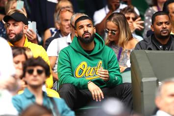 Drake Shows Support For His Ex Serena Williams At Wimbledon