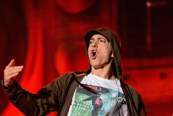 Eminem Premieres Bawdy New Dance Moves At Concert