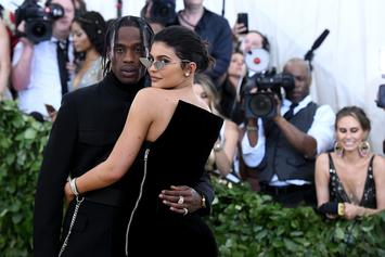 """Travis Scott On Kylie Jenner's Forbes Cover: """"Can't Be More Proud"""""""
