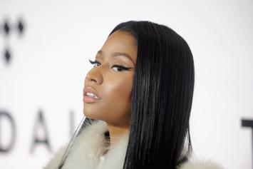 "Nicki Minaj Serves Class In ""Harper's Bazaar"" Photoshoot"