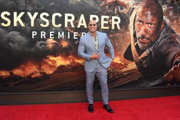"Dwayne Johnson Thanks Fans For Going To See ""Skyscraper"" On Twitter"