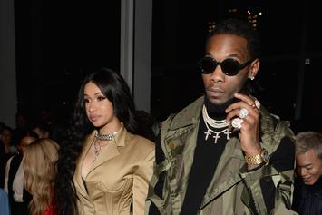 Cardi B & Offset Have First Doctor's Visit With Newborn Kulture