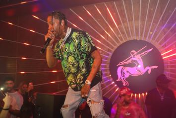 "Travis Scott Reportedly Plays ""Astroworld"" For Epic Records"