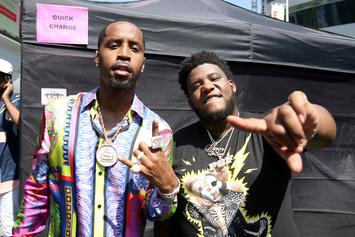 Safaree Samuels Spits Freestyle Response To Hostile Dyckman Crowd