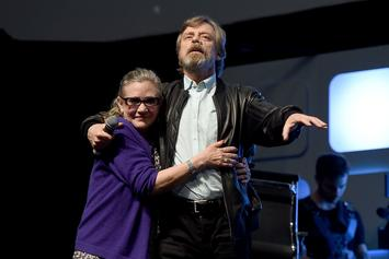 "Mark Hamill Addresses Carrie Fisher Posthumous Appearance In ""Star Wars IX"""