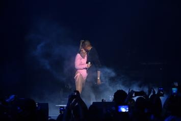 "Jay-Z & Beyonce Honor Aretha Franklin During ""On The Run II"" Detroit Concert"