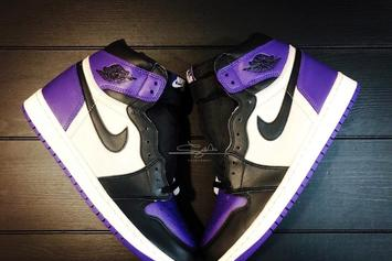 """Air Jordan 1 """"Court Purple"""" Release Date, New Images Revealed"""