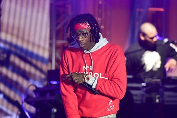 "Young Thug Arrested On Gun Charge Minutes After ""Slime Language"" Launch"