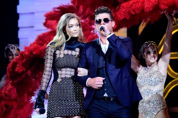 Robin Thicke & His Model Girlfriend Are Pregnant Again