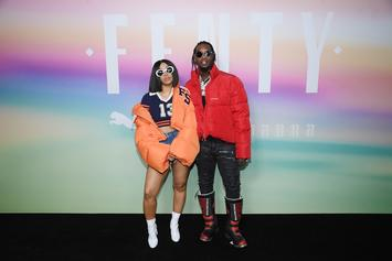 Cardi B & Offset Share First Glimpse Of Baby Kulture