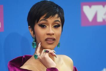 Cardi B Shows Off Her Post-Baby Bod In Sexy Lingerie On Private Jet