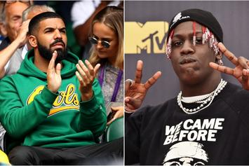 Lil Yachty & Drake Post Up Like Smiling Went Outta Style