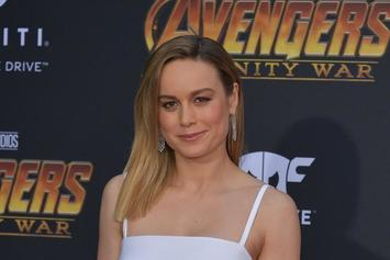 """Here's The First Official Look At Brie Larson As """"Captain Marvel"""""""
