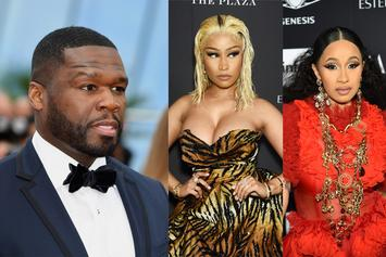 "50 Cent Comments On Cardi B Fighting Nicki Minaj: ""She Been Through Way Worse"""