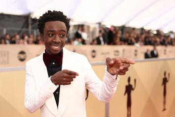 Stranger Things' Caleb McLaughlin Says He's Sneaker King Among Castmates