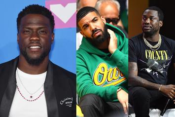 """Kevin Hart Was Caught In Between Drake And Meek Mill's Beef: """" I Tried My Best"""""""