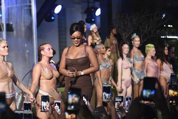 "Rihanna Wants Women To ""Feel The Sexiest"" In Her Savage x Fenty Lingerie"