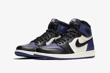 "Air Jordan 1 ""Court Purple"" Makes Retail Debut This Weekend"